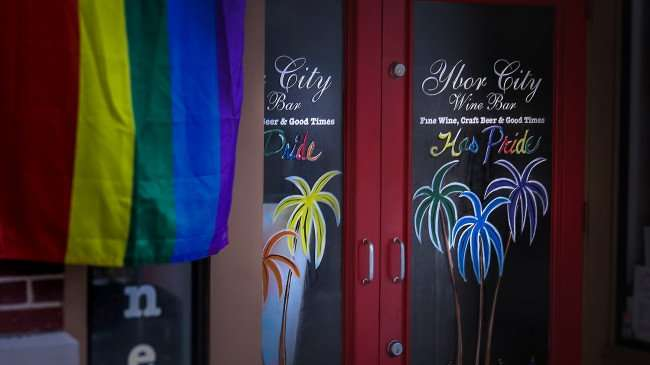Mar 27, 2016 - Ybor City Wine Bar has pride in Tampa, FL/photonews247.com