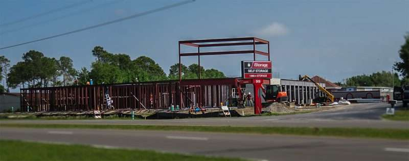 April 14, 2016 - iStorage self storage under construction Apollo Beach FL/photonews247.com