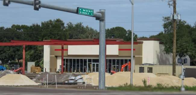 11.06.2016 - Circle K under construction at Old Gibsonton Rd and Gibsonton in Gibsonton, FL/photonews247.com