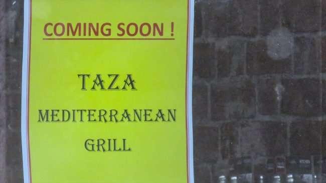 May 22, 2016 - Taza Mediterranean Grill, Brandon, FL