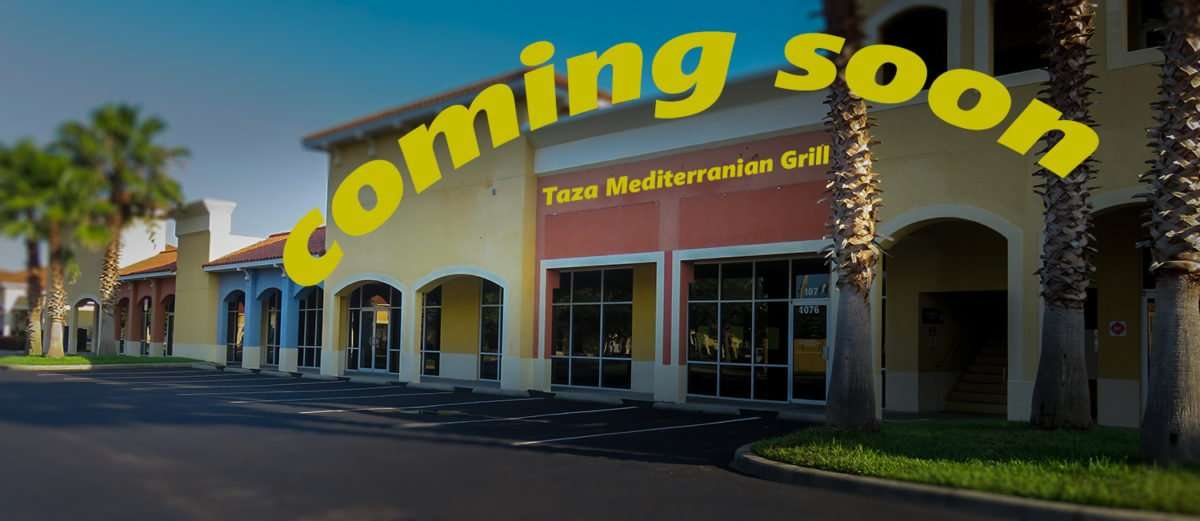 May 22, 2016 - Taza Mediterranean Grill coming soon to 1076 Brandon Blvd/photonews247.com