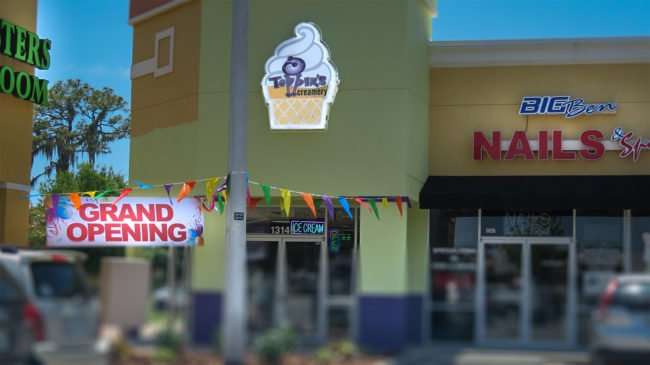 May 24, 2016 - Toppers Creamery Grand Opening Riverview, FL/photonews247.com