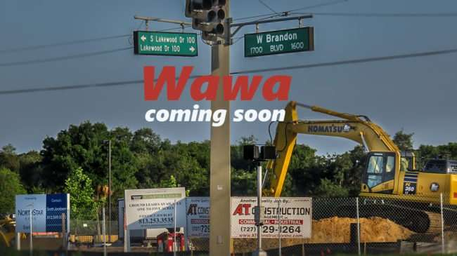 May 22, 2016 - Wawa, Lakewood Dr and W Brandon Blvd (construction)/photonews247.com