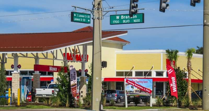 11.06.2016 - Wawa open at S Lakewood Dr and W Brandon Blvd, Brandon, FL/photonews247.com