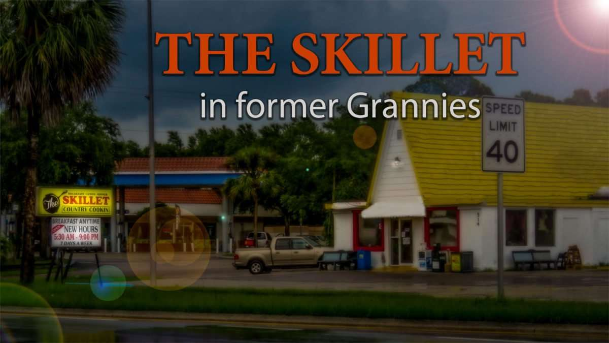 The Skillet Country Cookin restaurant in former Grannies US-41, Ruskin fl