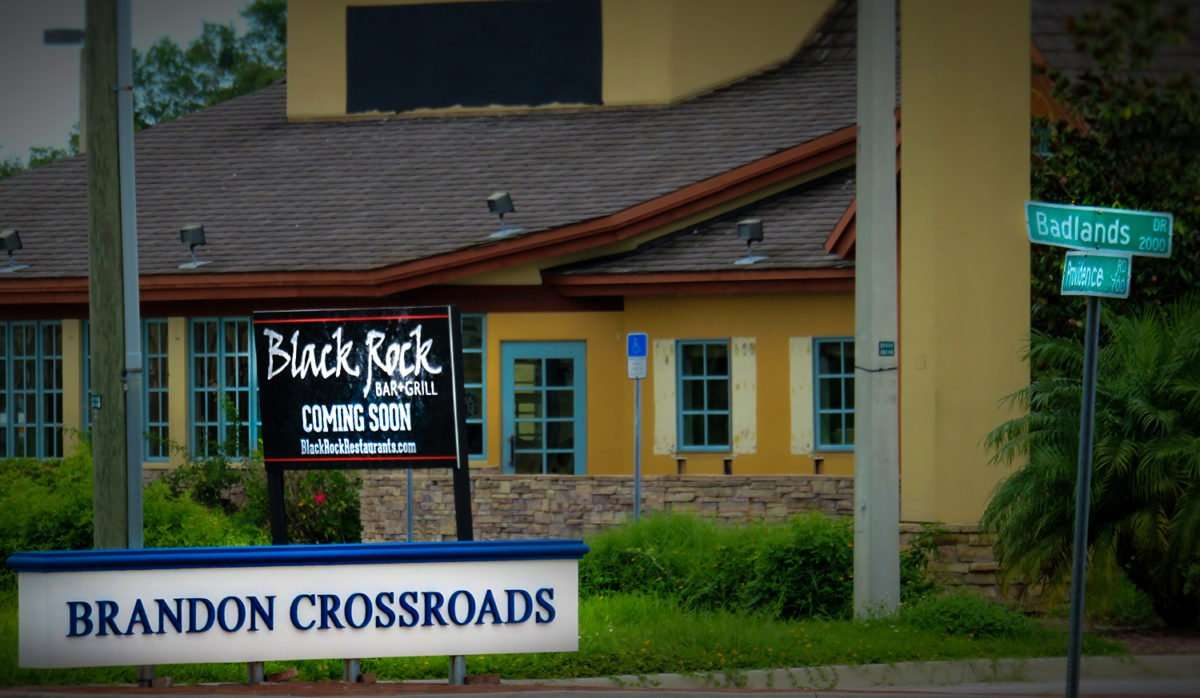 Aug 14, 2016 - Black Rock Bar & Grill moves into Mimi's Cafe, Brandon, FL/photonews247.com