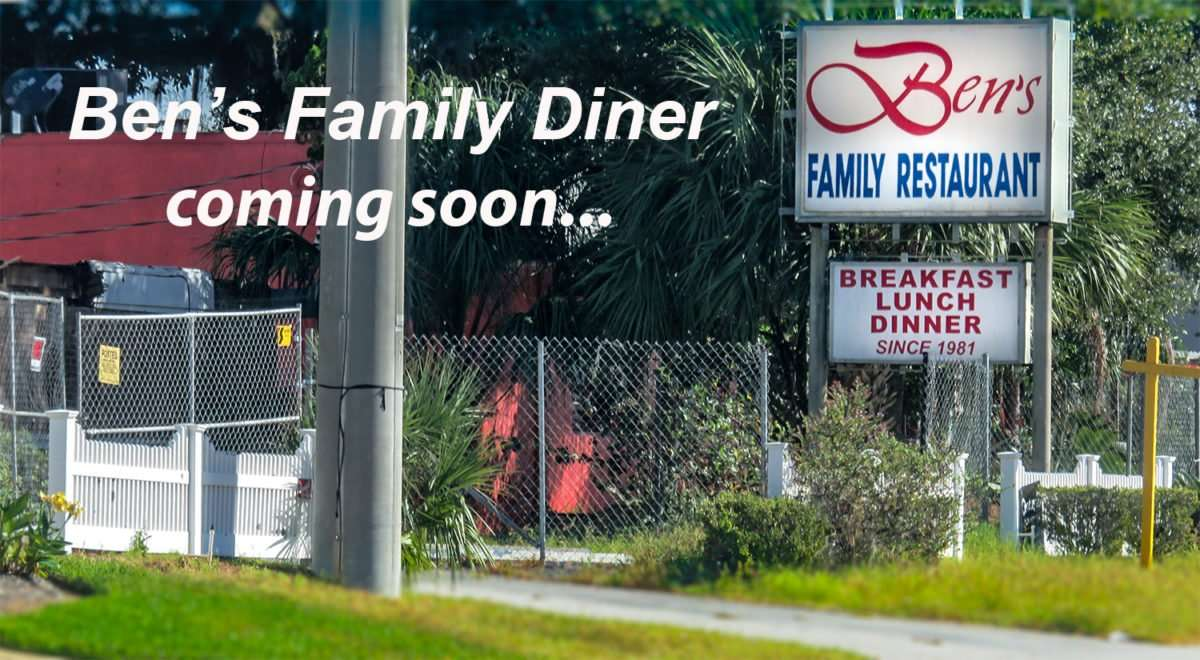 11.06.2016 0 Ben's Family Diner moving in Ben's Family Restaurant space Brandon, FL/photonews247.com