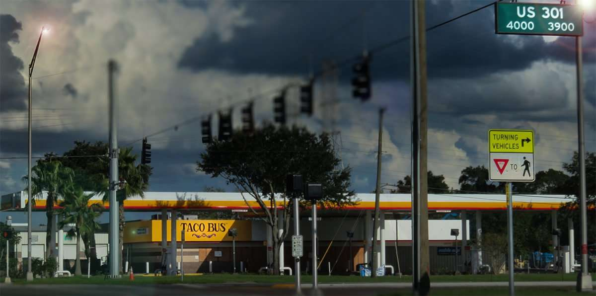 10.02.2016 - Taco Bus US-301, MKL Blvd, Tampa, FL/photonews247.com