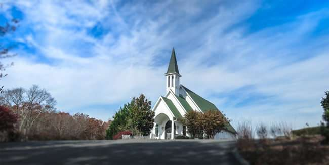 11.25.2016 - Whitestone Country Inn: Chapel of the Good Shepard Church in Kingstone, TN/photonews247.com