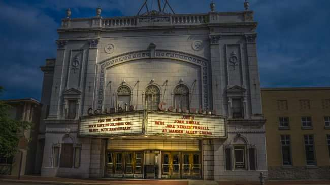 May 28, 2017 - Columbia Theatre before renovations, Broadway St, Paducah, KY/photonews247.com