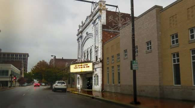 11.23.2016 - Columbia Theatre building on Broadway Street in Paducah KY/photonews247.com