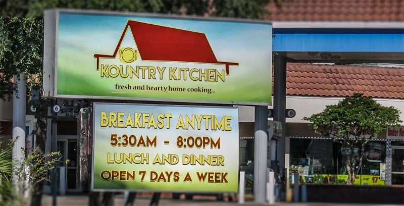 Menu Kountry Kitchen, Ruskin, FL – Photo News 247