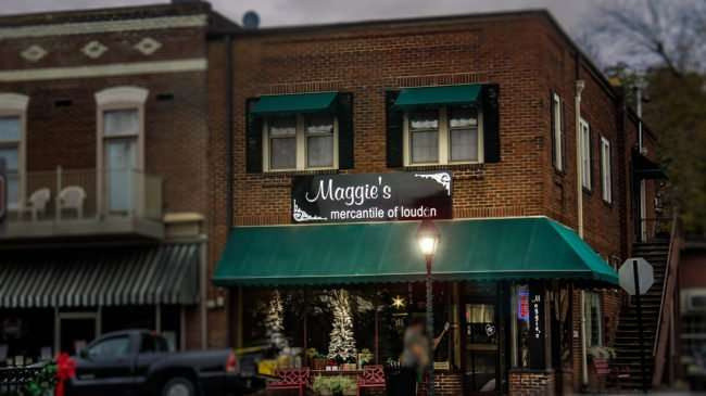 11.25.2016 - Maggie's Mercantile of Loudon, a shop in the Historic District of Loudon, TN 37774/photonews247.com