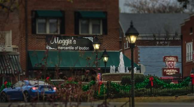 11.25.2016 - Maggies and McGill Karnes Funeral Home, Historic District, Loudon, TN/photonews247.com