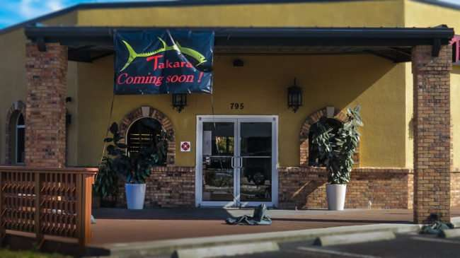 11.06.2016 - Takara Sushi Restaurant coming to 795 W. Lumsden Road Brandon, FL 33511/photonews247.com
