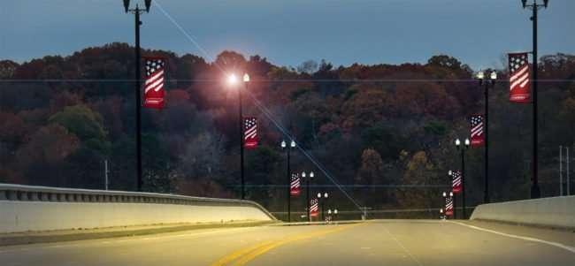 11.25.2016 - Veterans Bridge over Tennessee River in Historic Loudon, TN/photonews247.com