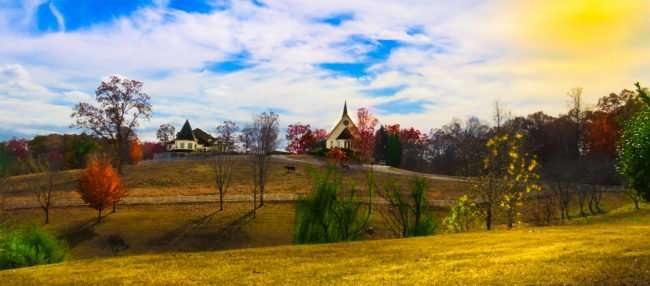 11.25.2016 - Whitestone Country Inn on a sprawling 360 acre plot near Tennessee Wildlife Area in Kingston, TN/photoews247.com
