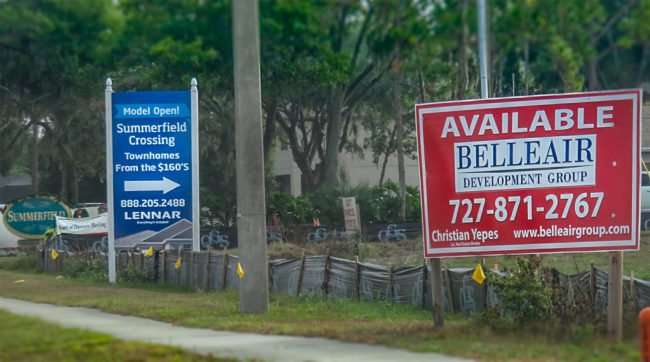 12.14.2016 - Belleair Development Group Christian Yepes, Riverview, FL at Big Bend and 301/photonews247.com