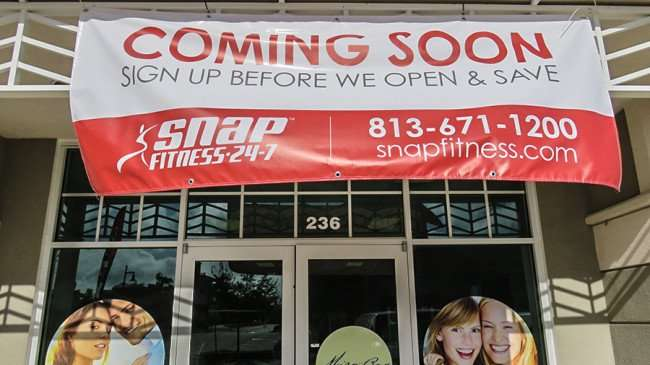 Dec 30, 2015 - Coming Soon Snap Fitness 24-7 to 236 Harbor Village Lane, Apollo Beach, FL/photonews247.com