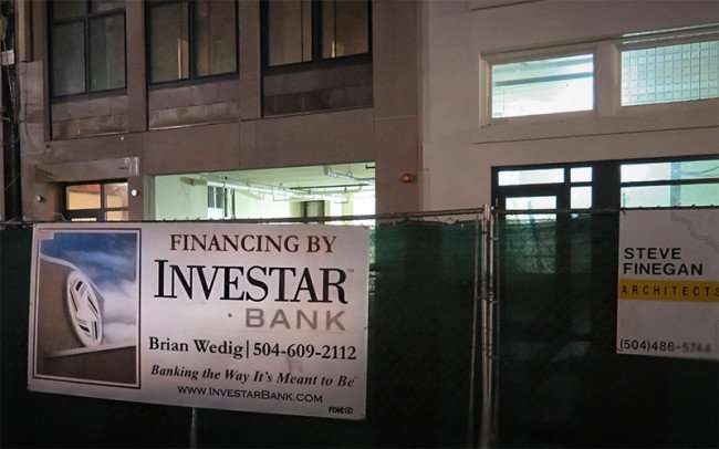 Dec 23, 2015 - Mintz Lofts construction with Financing by Investar Bank Brian Wedig at 745 Baronne Street, New Orleans, LA/photonews247.com
