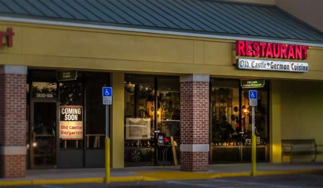 12.23.2016 - Old Castle Biergarten will be a full service bar adjacent to the Old Castle German Restaurant in Ruskin, FL/photonews247.com