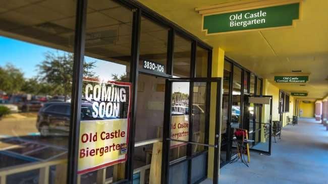 12.23.2016 - Old Castle Biertgarten coming soon to Ruskin, FL/photonews247.com
