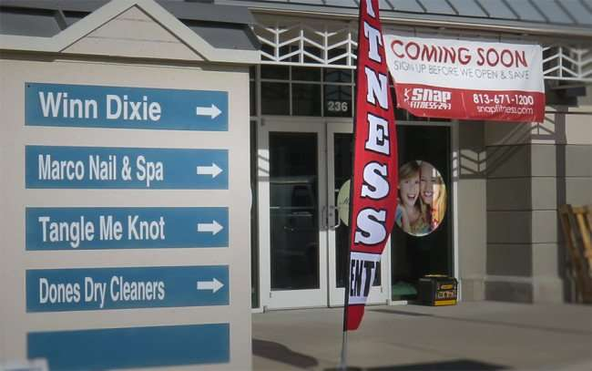 Dec 30, 2015 - Snap Fitness opening in Winn Dixie Shopping Center along US 41, Apollo Beach, FL/photonews247.com