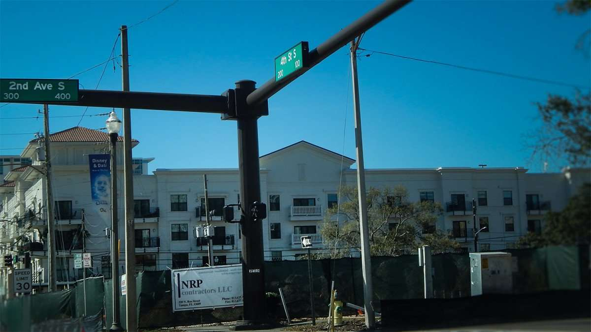 Mar 6, 2016 - 4th Street South Residences II under construction in Sts Petersburg, FL/photonews247.com