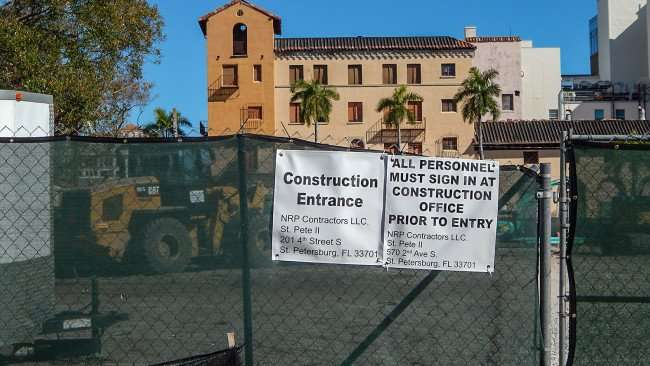 Mar 6, 2016 - 4th Street South Residences II under construction in St Petersburg, FL/photonews247.com