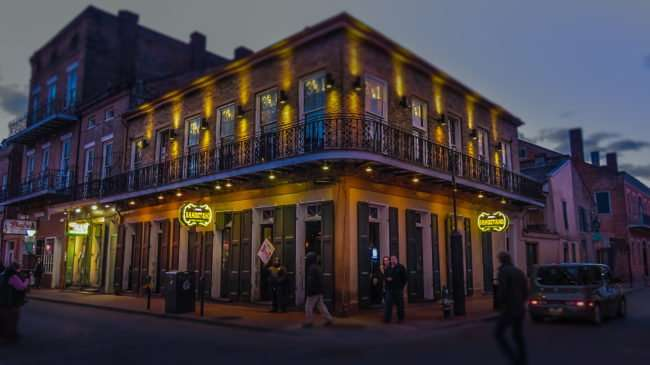 Jan 9, 2017 - Bandstand Bar on Bourbon Street in the French Quarter of New Orleans, LA/photonews247.com
