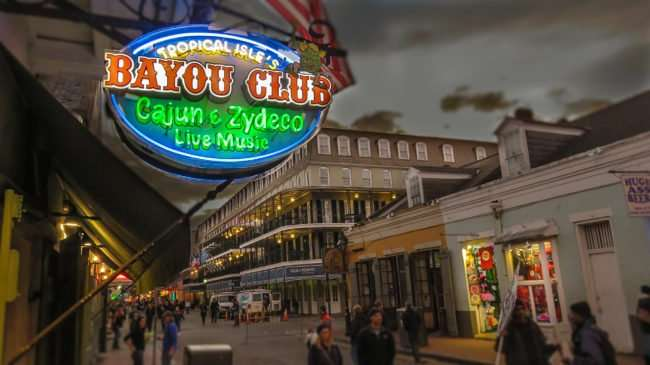 Jan 9, 2017 - Bayou Club Cajun Zydeco, Bourbon Street, New Orleans, LA/photonews247.com