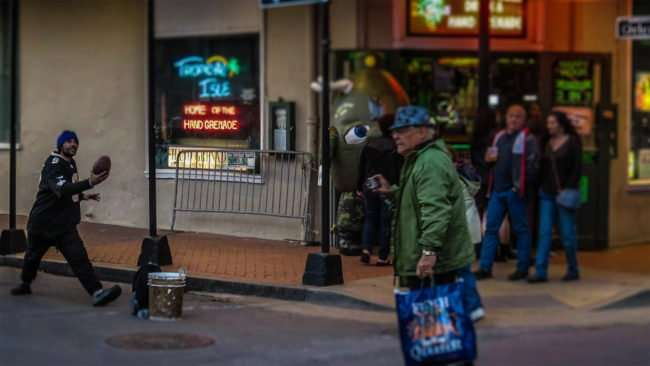 Jan 9, 2017 - Canon PowerShot SX710 HS takes photo of Human mannequin on Bourbon Street/photonews247.com