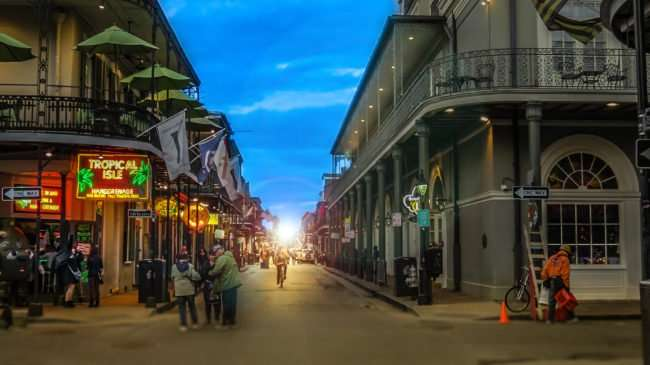Jan 9, 2017 - Canon PowerShot SX710 HS takes photo of Tropical Isle Hand Grenade Bar New Orleans, LA/photonews247.com