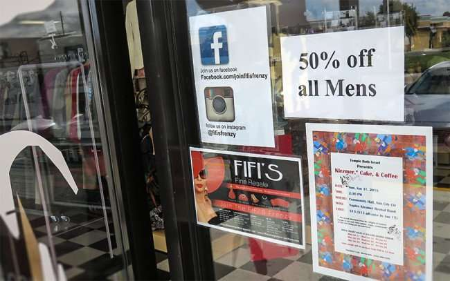 Dec 30, 2015 - Fifi's 50% Off Sale on Men's apparel in Apollo Beach Southshore, FL/photonews247.com