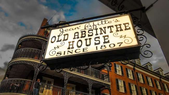 Jan 9, 2017 - Jean Lafitte's Old Abstinthe House 1807 haunted place on Bourbon Street New Orleans/photonews247.com