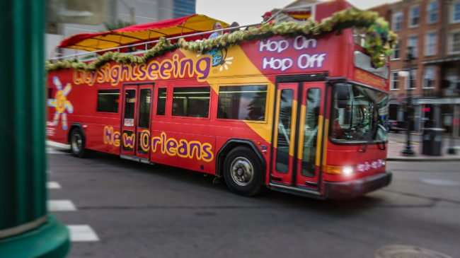 Jan 9, 2017 - Photo by Canon PowerShot SX710 HS City Sightseeing Double decker, New Orleans, LA/photonews247.com