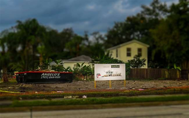 Jan 10, 2016 - Smarty Pants construction site on S Dale Mabry Hwy, Tampa, FL/photonews247com