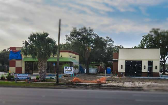 Jan 10, 2016 - Starbucks Starbucks under construction at corner of E Fowler Ave and 15th St, Tampa, FL/photonews247.com