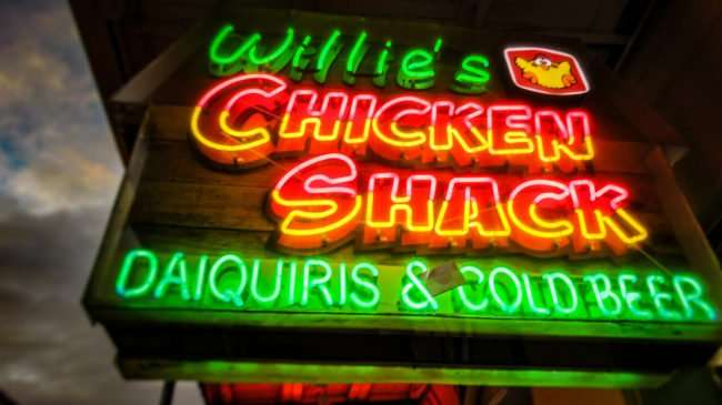 Jan 10, 2017 - Willie's Chicken Shack on Bourbon Street in the French Quarter, New Orleans, LA/photonews247.com