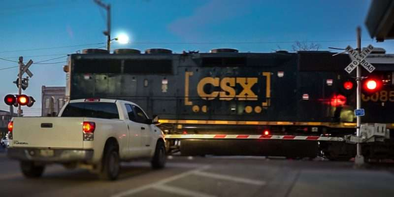 Feb 5, 2017 - CSX Train at Railroad Crossing Ybor City Tampa/photonews247.com