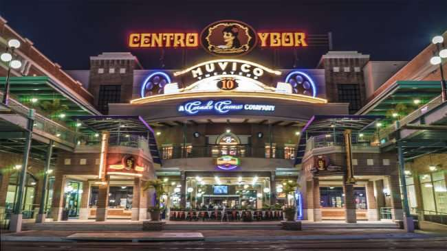 Feb 5, 2017 - Centro Ybor Muvica Theaters 10 in Ybor City/photonews247.com