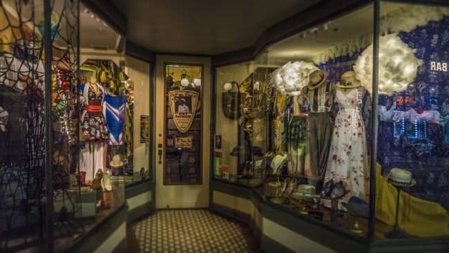 Feb 5, 2017 - La France window with vintage clothing women's, 7th Ave, Ybor City Tampa, FL/photonews247.com