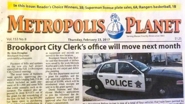Feb 23, 2017 - Metropolis Daily Planet newspaper talks about Superman license plates