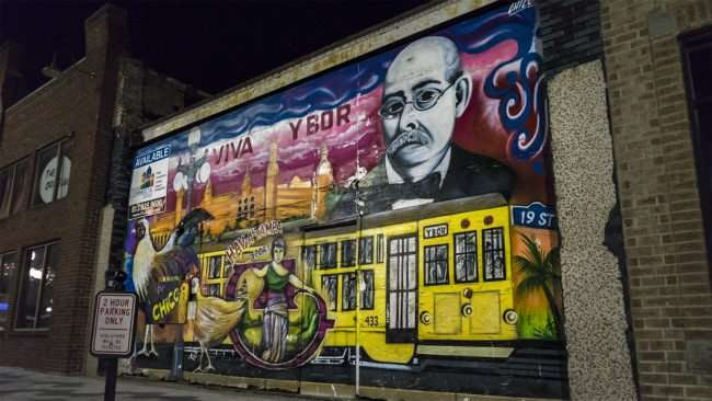 Feb 5, 2017 - Viva Ybor Mural 7th Ave in Ybor City Tampa, FL/photonews247.com