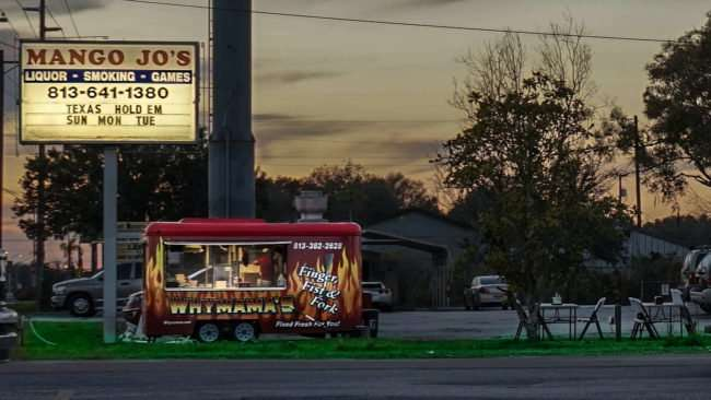 Feb 2, 2017 - Why Mamas outside road diner in Mango Jo's parking lot, Ruskin, FL SouthShore, FL/photonews247.com