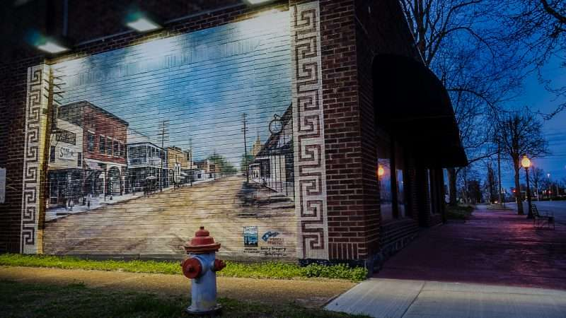 Feb 27, 2017 - Mural on Market Street, Metropolis, IL/photonews247.com