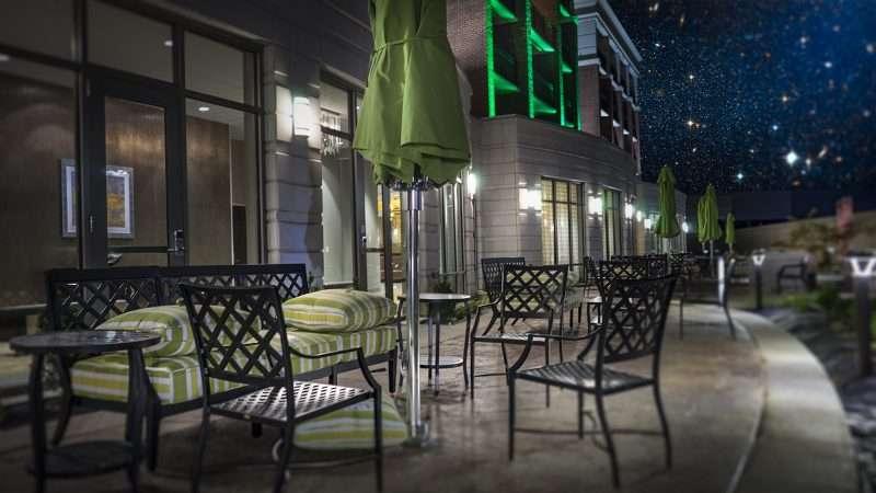 July 19, 2017 - Outside patio at Holiday Inn Paducah Riverfront Hotel/photonews247.com