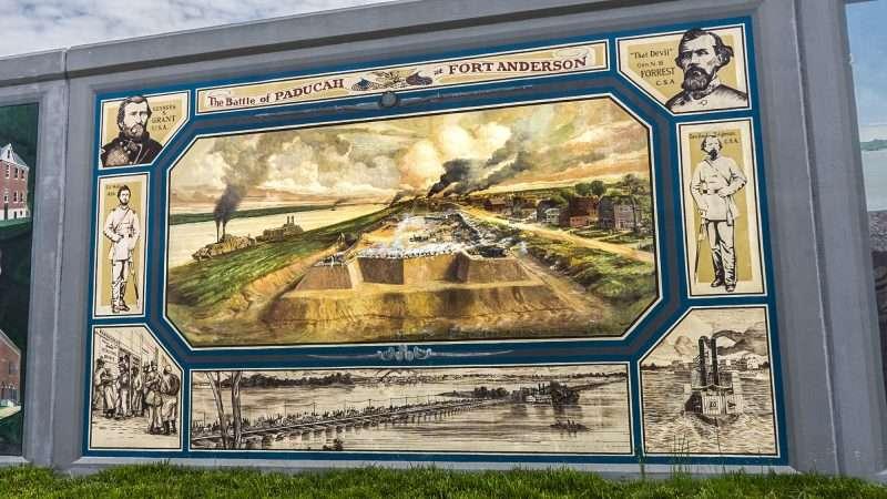 Paducah s floodwall murals photo news 247 for Siege mural rabattable