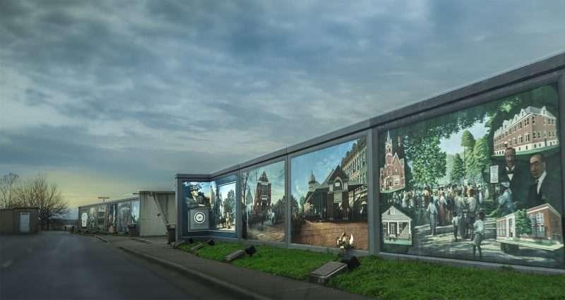 Paducah S Floodwall Murals Photo News 247