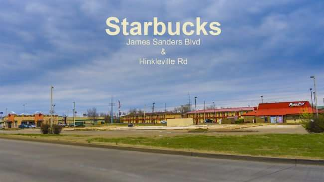 Mar 16, 2017 - Starbucks next to Pizza Hut and Taco Bell James Sanders Blvd and KY-60 Hinkleville Rd, Paducah (CC)/photonews247.com